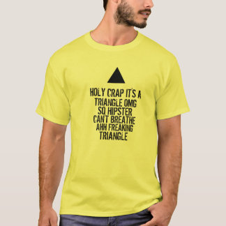 Triangle de hippie d'OMG T-shirt