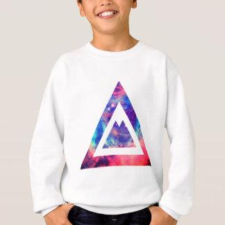 Triangle de l'espace de hippie sweatshirt