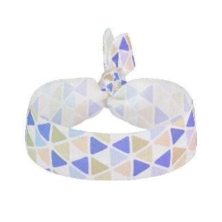 Triangle en pastel élastique pour cheveux