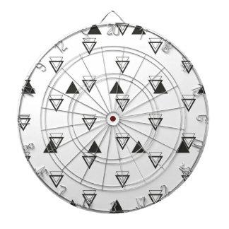 triangle jeux de fléchettes