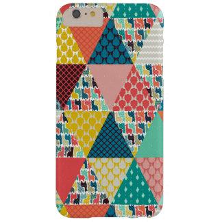 triangles de geo de lama coque iPhone 6 plus barely there