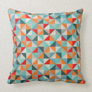 Triangles géométriques de style élégant de coussin