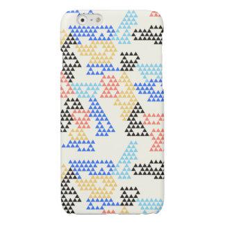 Triangles géométriques modernes - iPhone brillant