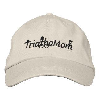 TriathaMom a brodé le casquette de sergé