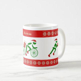 Triathletes nommés faits sur commande de Noël Mug