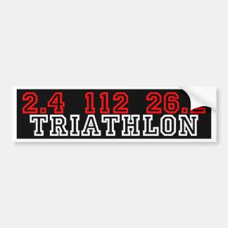 Triathlon Adhésifs Pour Voiture