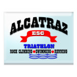 Triathlon d'Alcatraz Carte Postale