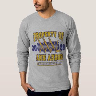 Triathlon d'Ann Arbor T-shirt