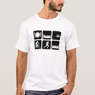 Triathlon drôle t-shirt