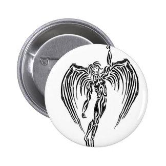 Tribal angel badge