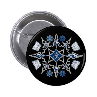 Tribal Buddhist Symbols Pins