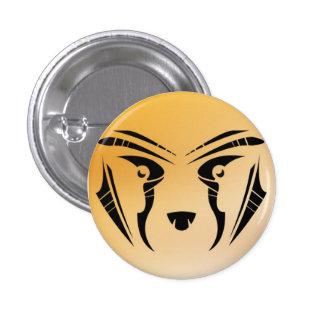 Tribal cheetah badges avec agrafe