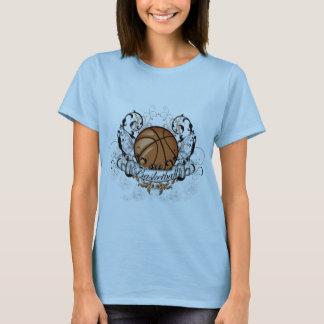 Tribal de basket-ball t-shirt