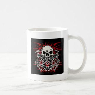 Tribal de crâne mug