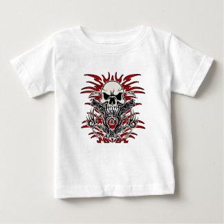 Tribal de crâne t-shirt pour bébé