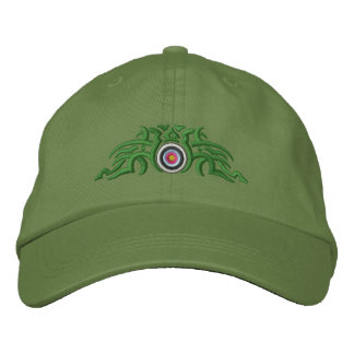 Tribal de tir à l'arc casquettes brodées