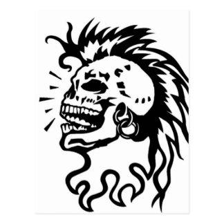 Tribal demon carte postale