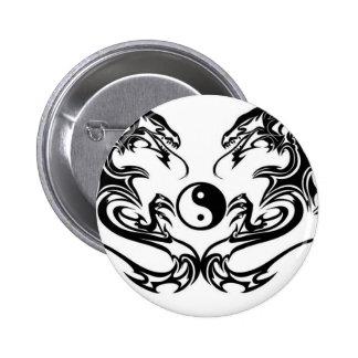 Tribal dragon badges