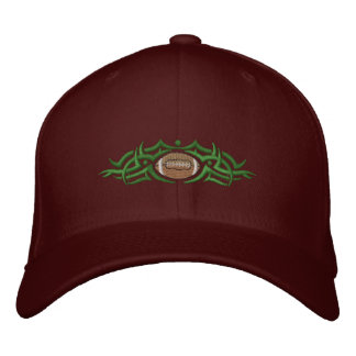Tribal du football casquette brodée