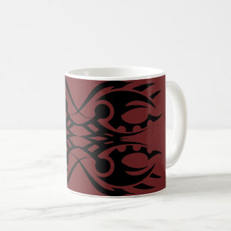 Tribal mug 18 black over réseau 2