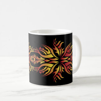 Tribal mug 5 fire