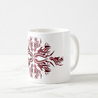 Tribal mug 6 réseaux one over white