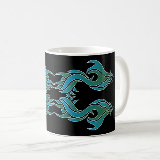 Tribal mug 8 couleurs over black 4