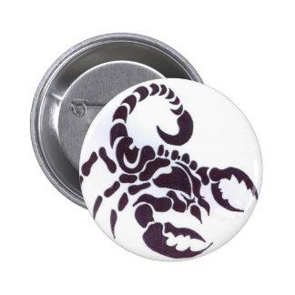 Tribal scorpion pin's