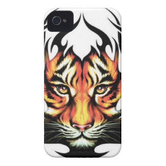 Tribal tiger coque Case-Mate iPhone 4