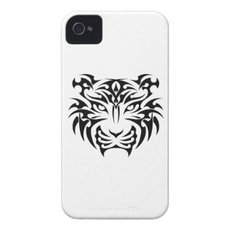 Tribal tiger coque iPhone 4 Case-Mate