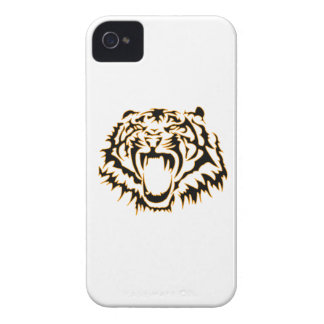 Tribal tiger coques iPhone 4 Case-Mate