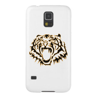 Tribal tiger coques pour galaxy s5
