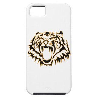 Tribal tiger étuis iPhone 5