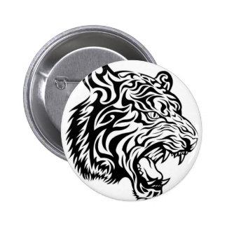Tribal tiger pin's