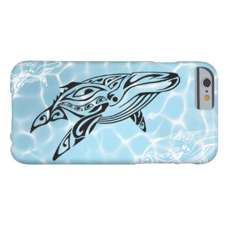 Tribal whale 1 in the water coque iPhone 6 barely there