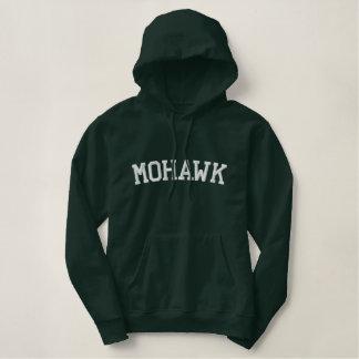 Tribu d'Indien de Mohawk Sweatshirt À Capuche Avec Broderie