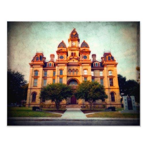 Tribunal de Luling dans le Texas rural Photographe