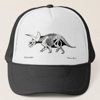 Triceratops Gregory Paul de casquette de dinosaure