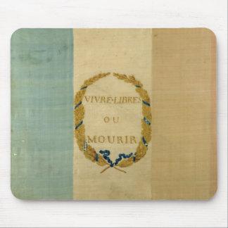 Tricolore avec libre vivant ou Die de la devise ' Tapis De Souris