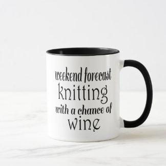 Tricot et vin mug