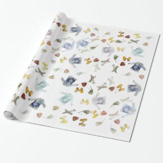 Tricots Giftwrap Papier Cadeau Noël
