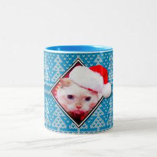 Trident la tasse de café laide de chandail de Noël