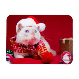 Trident l'aimant de Noël de chat Magnets Souples