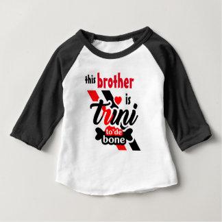 Trini 2 de bone (frère) t-shirt pour bébé