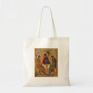 Trinité de Rublev au Tableau Tote Bag