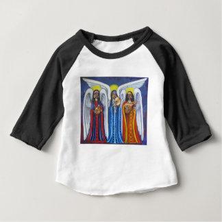Trio de musique d'ange t-shirt pour bébé