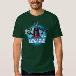 Trio de puissance de ligue de justice t-shirt