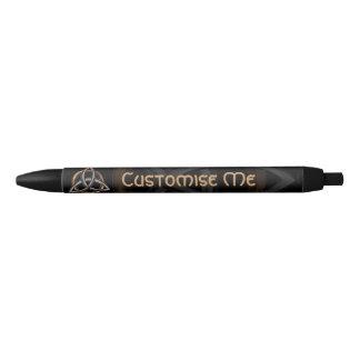 Triquetra (Brown/argent) Crayon Noir