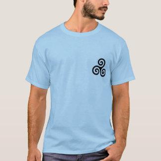 triskele-symbol-spiral t-shirt