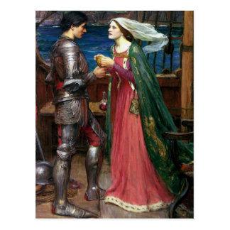 Tristan et carte postale d'Isolde